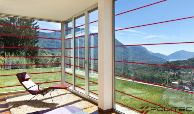 Barriere e sensori per proteggere porte e finestre politec srl - Barriere infrarossi per finestre ...